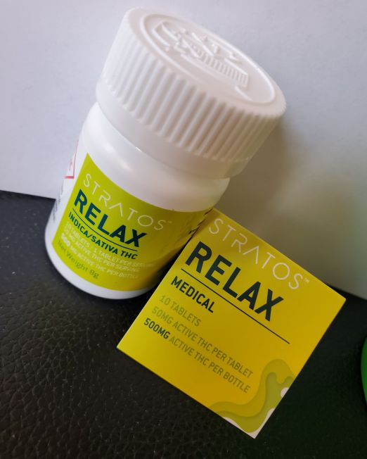 Stratos Relax 500mg
