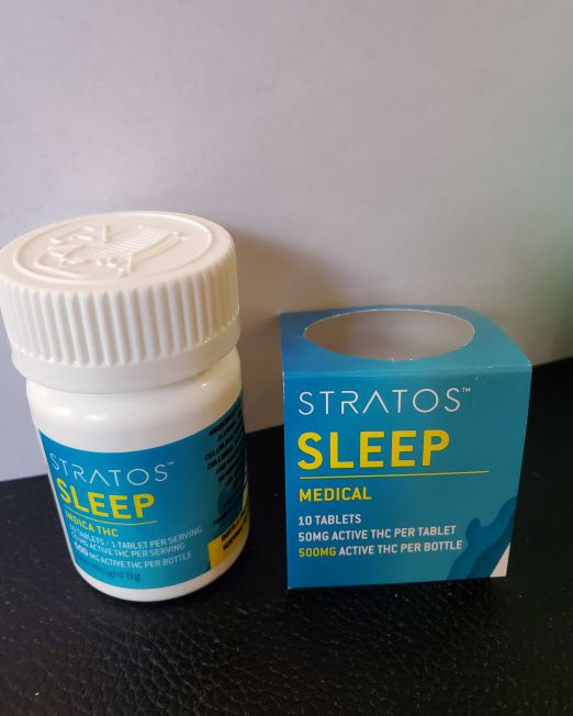 Stratos Sleep 500mg